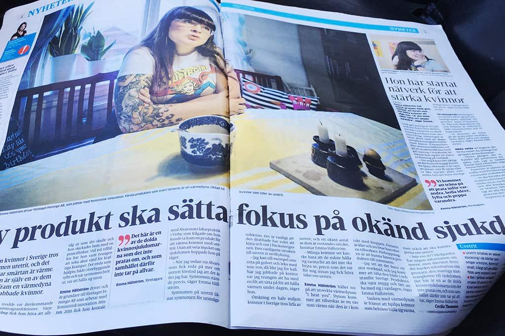 I Heat You - artikel i Gotlands Allehanda